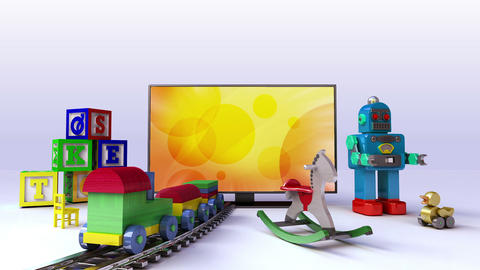Kids, Toy, Children contents for Smart TV, Wide TV, Entertainment contents Animation