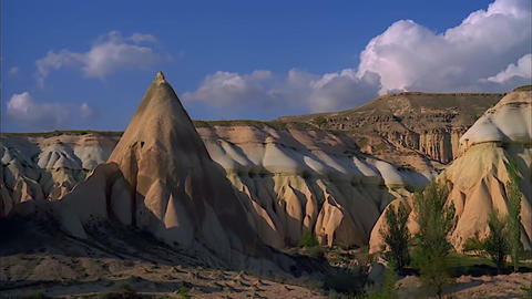 Cappadocia in Turkey. View of The Area ビデオ