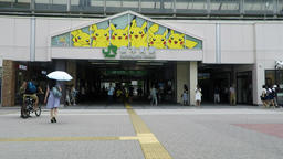 Station that the Pokemon Pikachu of events. /ポケモンのピカチュウの Footage