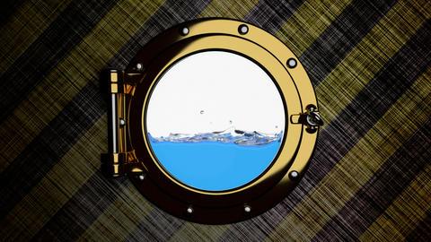 Sinking ship 3D animation Animation