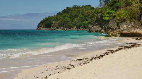 Tropical sea scenery Footage