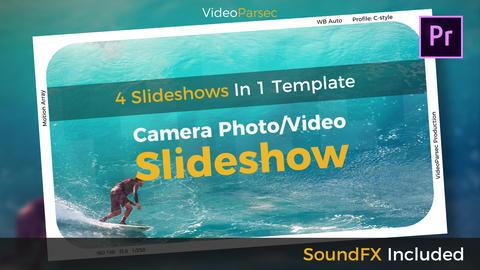 Camera Slideshow Premiere Proテンプレート