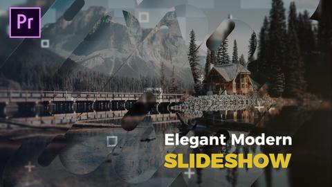 Elegant Modern Slideshow Premiere Proテンプレート