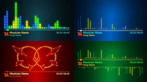 Music Visualizer After Effects Template
