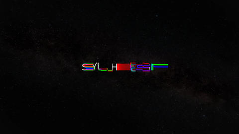 Glitch Text Animator After Effects Template