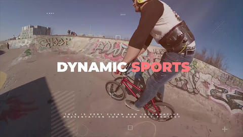 Dynamic Sports Apple Motion Template