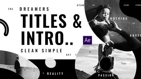 Titles Intro Elegant After Effects Template