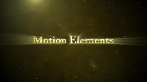 Gold&Silver Cinematic Text Collection