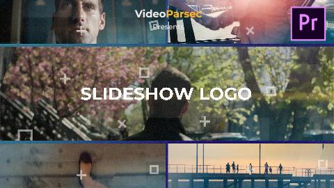 Slideshow logo Premiere Pro Template