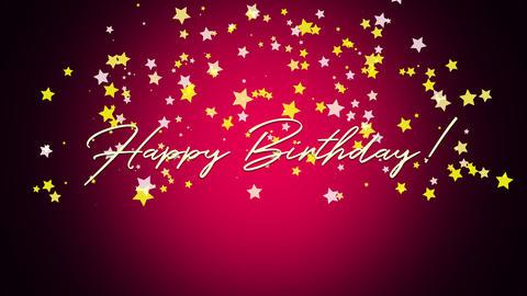 Animated Happy Birthday Text Animation