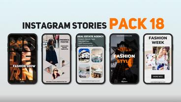 Instagram Stories Pack 18 After Effects Template