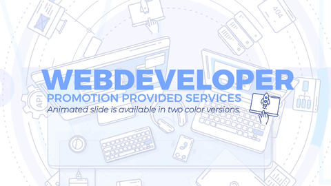 Web Developer Promo After Effects Template
