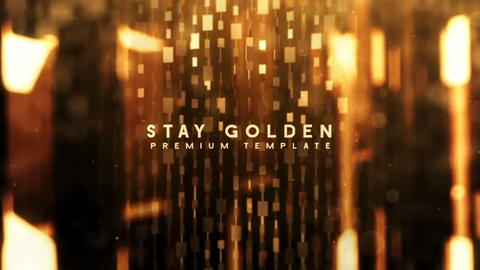 Stay Golden After Effects Template