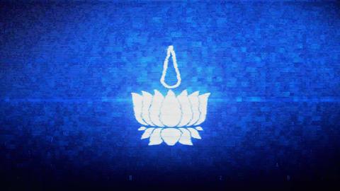 Religious symbol Ayyavazhi symbolism Symbol Digital Pixel Noise Error Animation Live Action
