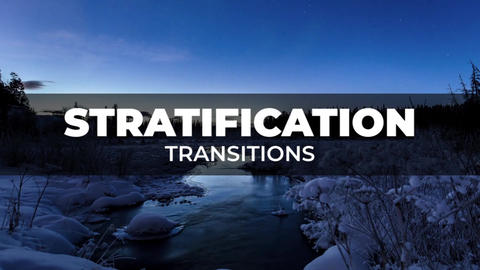 Stratification Transitions Premiere Proエフェクトプリセット