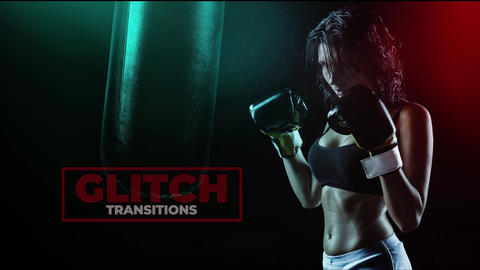 Glitch Transitions 2 Premiere Proエフェクトプリセット