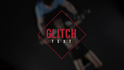 Glitch Text 3 Premiere Pro Effect Preset
