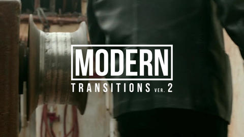 Modern Transitions 2 After Effectsアニメーションプリセット