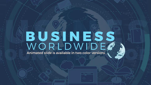 Business Worldwide After Effects Template