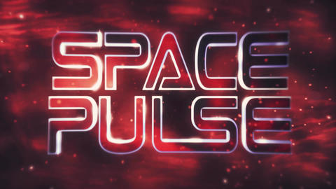 SpacePulse Title & Logo Reveal After Effectsテンプレート