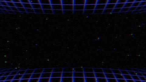 Motion retro lines abstract background Animation
