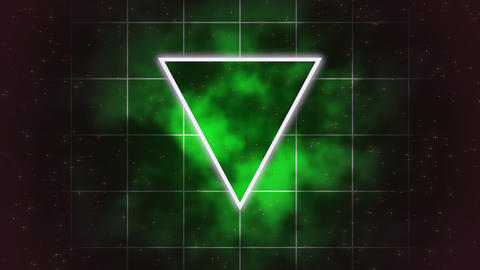 Motion retro triangle abstract background Animation