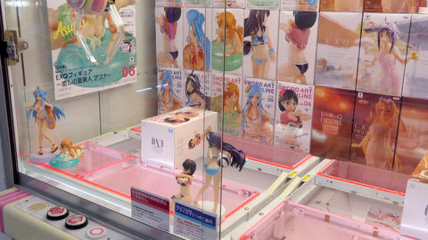 Manga And Anime Sexy Dolls In Vending Machine Japan Live Action