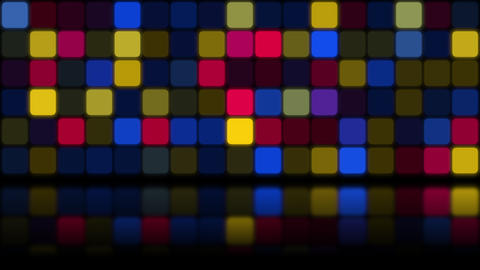 Motion Retro Mosaic Abstract Background Videos animados