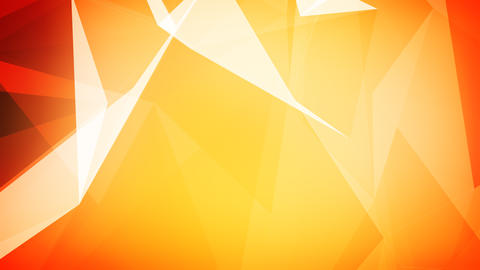 Plexus triangles background with edges and faces Animation