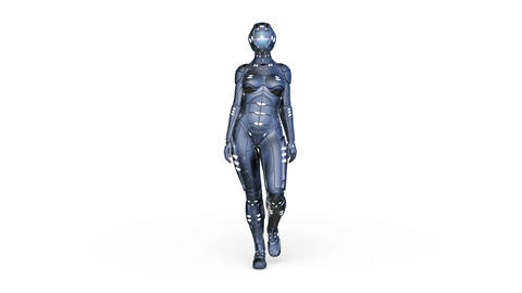Cyborg Body Suit Animation