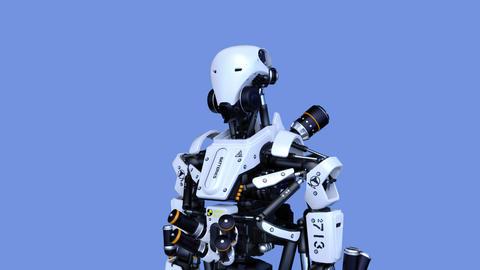 ロボット CG動画