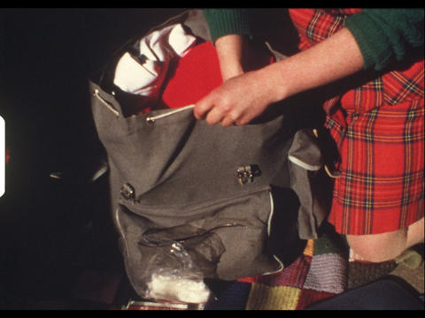 Bag packing 1 Footage