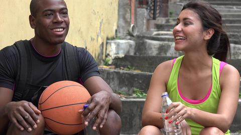 Athletic People Fit People Footage