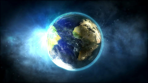 Planet Earth Footage Animation