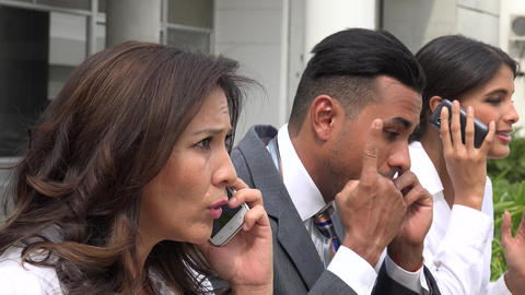 Stock Brokers During Market Crisis Live Action