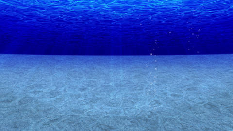 dive in the ocean, undersea, diving, loop, cg Animation