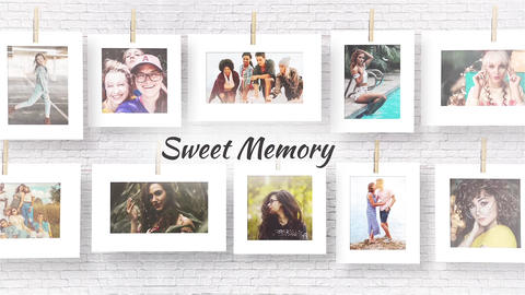 Sweet Memories After Effects Template