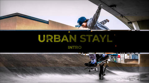Urban Style Intro After Effects Template