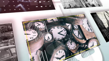 4K Documentary History Timeline After Effects Template