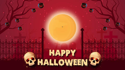 Halloween Promo After Effects Template