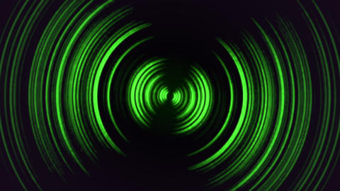 Abstract motion green lines with noise in 80s style, looping animation retro Animation