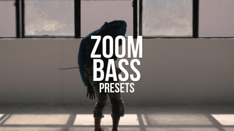 Zoom Bass Presets Premiere Pro Template