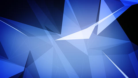 Dark blue plexus animation with edges and faces Animation