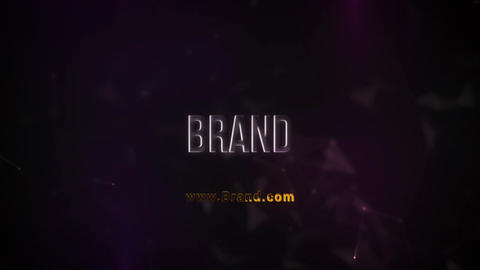 Glossy Plexus Brand Reveal Plantillas de Motion Graphics