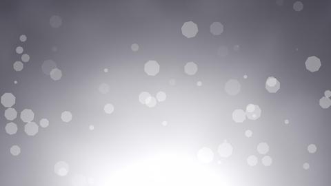 Abstract bokeh particles falling CG動画