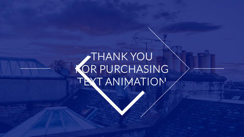 Text Animation After Effects Template