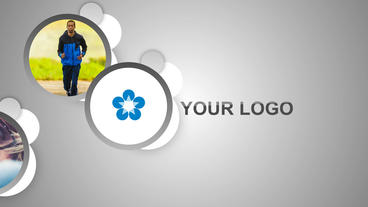 Round Logo Opener After Effects Template