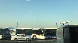 DUBAI, UNITED ARAB EMIRATES - MARCH 23 2016: Dubai airport HD travel video Footage