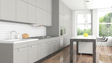 Luxury kitchen interior Footage