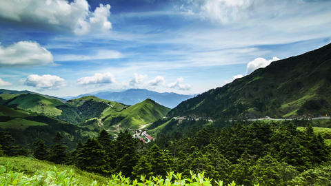 Scenic of Mountain on heaven above the ground. Good background for you to put te Live Action